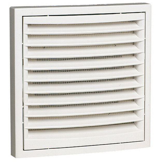 grille plastique carr e avec grillage anti moustique 140 x 140 mm achat vente a ration. Black Bedroom Furniture Sets. Home Design Ideas