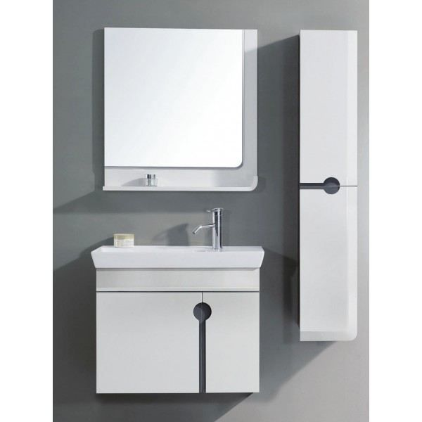Meuble de salle de bain avec colonne de rangeme achat - Colonne salle de bain cdiscount ...