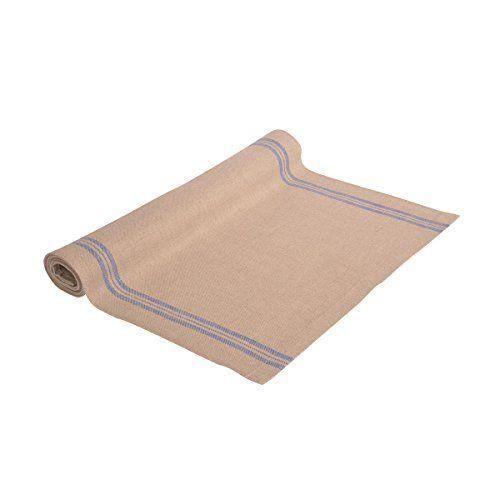 Vaitkute 111038 chemin de table pur lin maison de campagne - Set de table lavable en machine ...