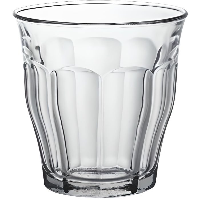 duralex picardie lot de 6 verres hauts transparent 25 cl achat vente verre bi re cidre. Black Bedroom Furniture Sets. Home Design Ideas