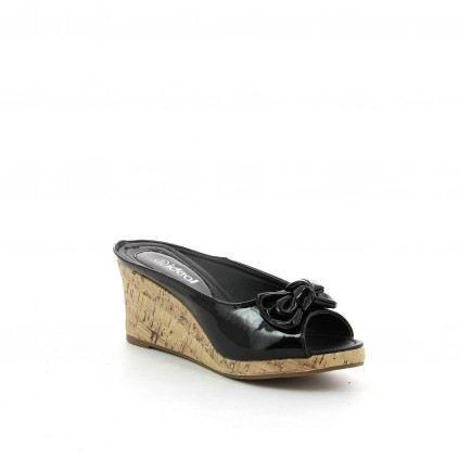 chaussure femme compensées ZOE Noir - Achat / Vente chaussure femme ...