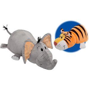FLIP-A-ZOO Elephant-Tigre 2-en-1