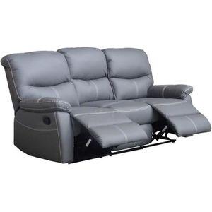 canape 3 places achat vente canape 3 places pas cher. Black Bedroom Furniture Sets. Home Design Ideas