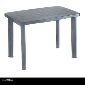 Table Jardin Anthracite Achat Vente Table Jardin Anthracite Pas Cher Cdiscount