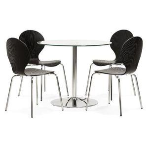 table ronde de cuisine achat vente table ronde de cuisine pas cher soldes d hiver d s le. Black Bedroom Furniture Sets. Home Design Ideas