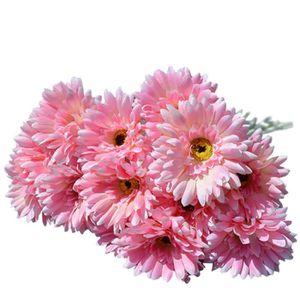 Gerbera artificielle achat vente gerbera artificielle for Soldes fleurs artificielles