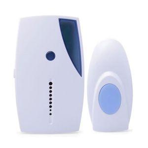 sonnette electrique avec fil achat vente sonnette electrique avec fil pas cher cdiscount. Black Bedroom Furniture Sets. Home Design Ideas