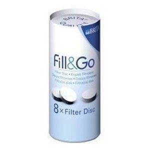 FILTRE POUR CARAFE 8 disques filtrants pour bouteille Fill&Go