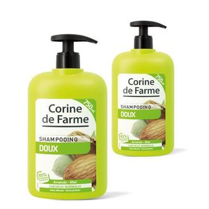 SHAMPOING Lot de 2 Shampooings Doux pour Tous types de ch...
