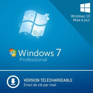 LOGICIEL À TÉLÉCHARGER Windows 7 Professionnel - 32/64-bit - A Télécharge