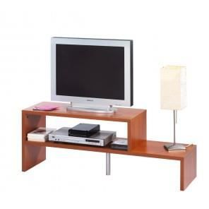 Meuble tv grosse epaisseur coloris merisier achat vente meuble tv meu - Vente privee meuble tv ...