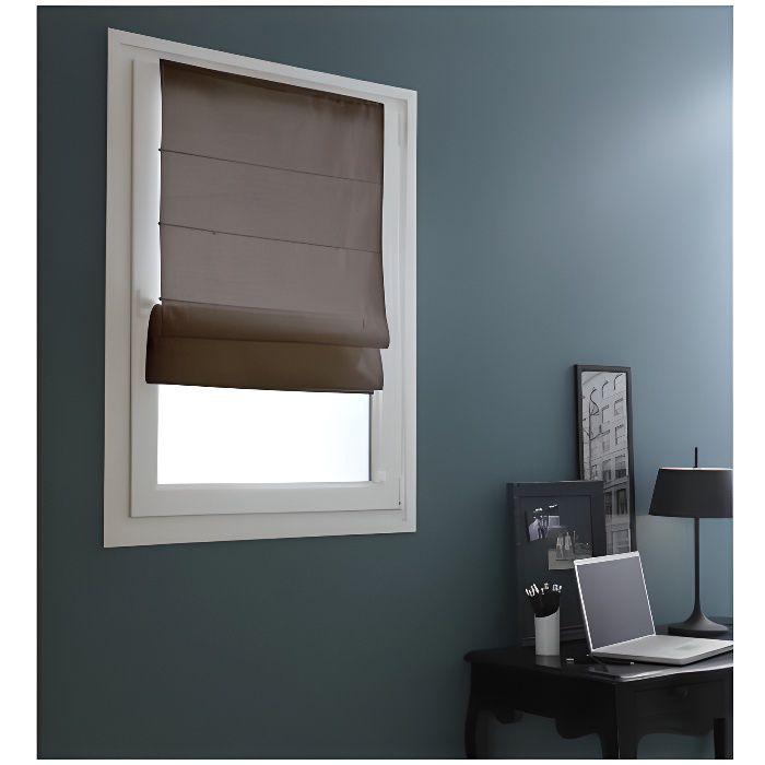 store bateau easy chocolat achat vente store de fen tre cdiscount. Black Bedroom Furniture Sets. Home Design Ideas