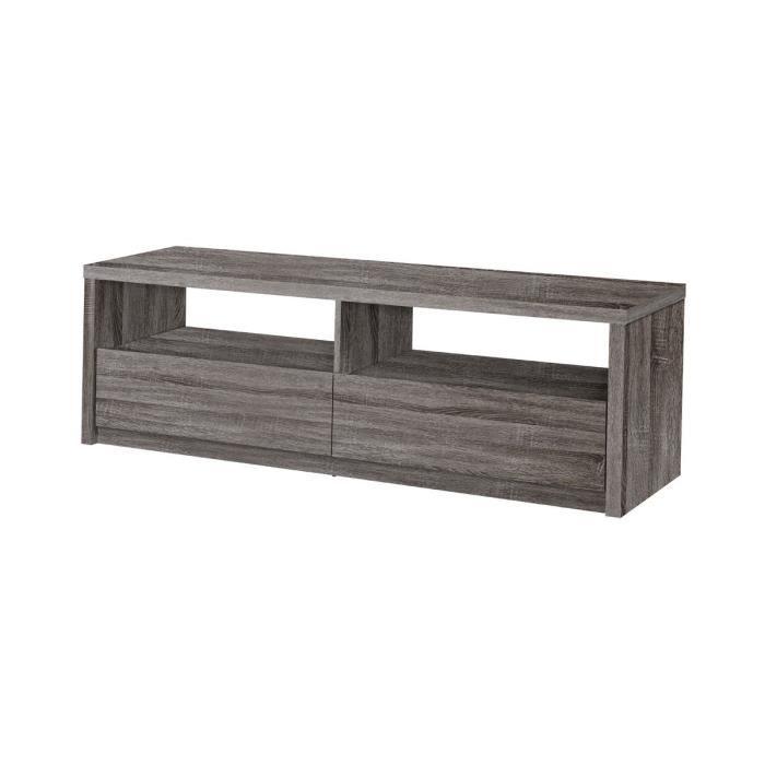Adria meuble tv gris achat vente meuble tv adria meuble tv gris cdi - Meuble tv gris cendre ...