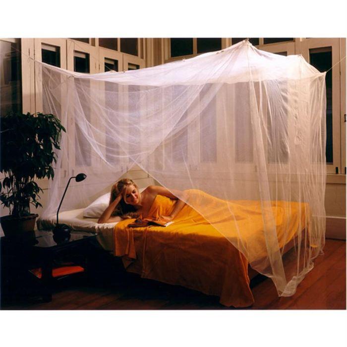 pharmavoyage moustiquaire impr gn e 1 place achat vente moustiquaire de lit cdiscount. Black Bedroom Furniture Sets. Home Design Ideas