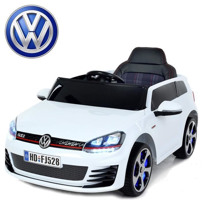 petite voiture quad lectrique enfant golf gti volkswagen. Black Bedroom Furniture Sets. Home Design Ideas