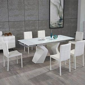 Element de cuisine haut verre achat vente element de cuisine haut verre p - Table a manger en verre design pas cher ...