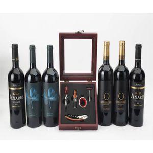 COFFRET CADEAU GOURMAND Sélection de Vins rouges espagnols de grande quali