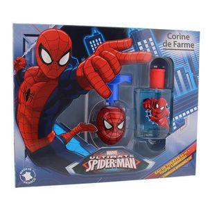 COFFRET CADEAU PARFUM Coffret Eau de toilette Spiderman et sa toupie lum