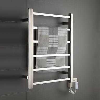 Chauffe serviette s che et porte serviette de douche bain - Porte de douche miroir ...
