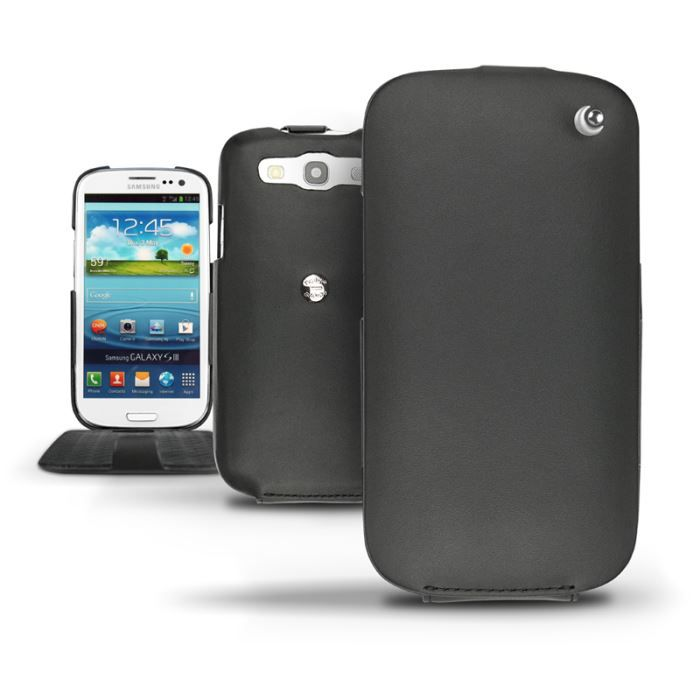 Housse cuir samsung gt i9300 galaxy s3 nor ve achat for Housse samsung galaxy s3