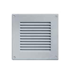 Grille ventilation 140x140mm aluminium avec moustiquaire achat vente vm - Porte avec grille de ventilation ...