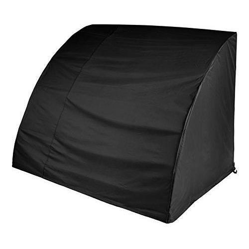 gardman 35655 housse pour balancelle 3 places polyester noir 220 x 170 cm achat vente. Black Bedroom Furniture Sets. Home Design Ideas
