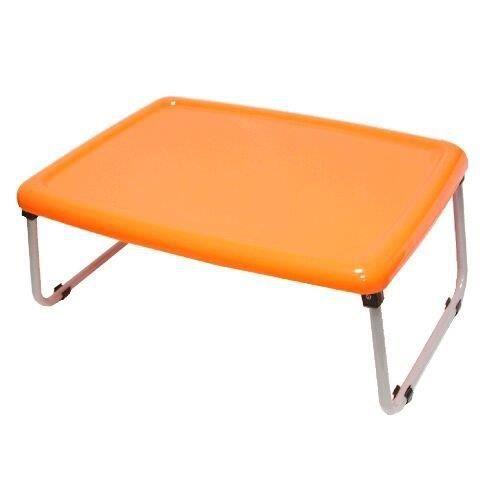table de lit pliable orange achat vente table repas table de lit pliable orange cdiscount. Black Bedroom Furniture Sets. Home Design Ideas