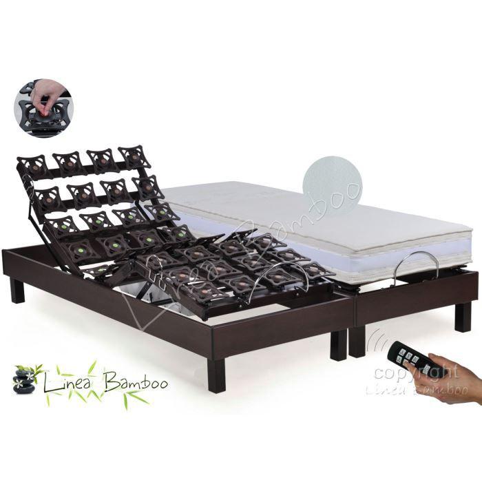 lit electrique plots et mousse hr 2x80x200 armag achat vente ensemble literie cdiscount. Black Bedroom Furniture Sets. Home Design Ideas