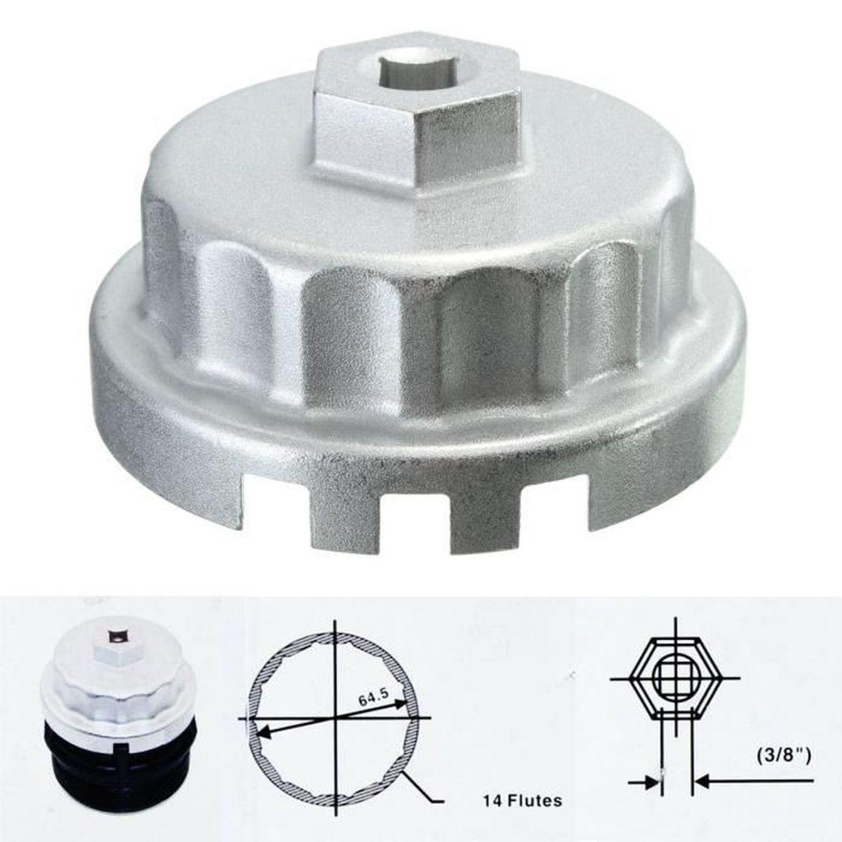 TEMPSA Clé De Filtre à Huile 64.5mm Pour TOYOTA LEXUS
