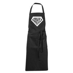 Tablier cuisine humoristique achat vente tablier - Tablier noir de cuisine ...