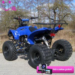 QUAD Quad électrique pour Enfant ATV S-10 125 cc – Bleu