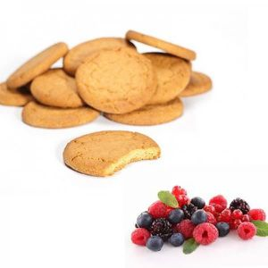 GOÛTER MINCEUR Biscuits Fruits rouges light