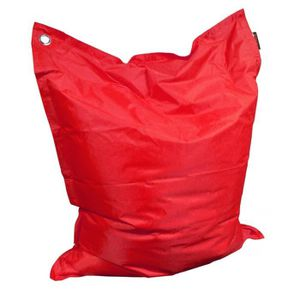 COUSSIN Grand coussin uni Maxi Rouge