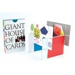 Charles eames house of cards giant game achat vente for Soldes eames