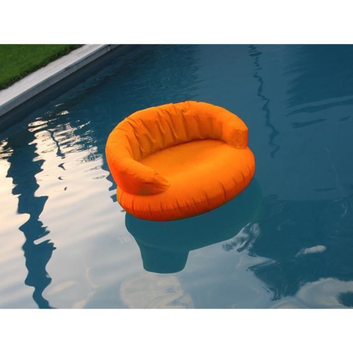 Coussin nomade gonflable flottant ch 39 air orange achat - Housse coussin exterieur impermeable ...