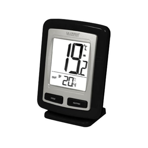 Thermometre interieur exterieur achat vente station for Station meteo exterieur