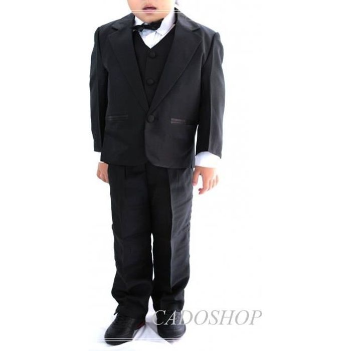 costume gilet enfant gar on mariage vcs47 noir noir achat vente costume tailleur cdiscount. Black Bedroom Furniture Sets. Home Design Ideas