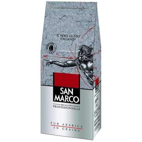 san marco caf en grains 1 kg achat vente caf chicor e san marco caf en grains. Black Bedroom Furniture Sets. Home Design Ideas