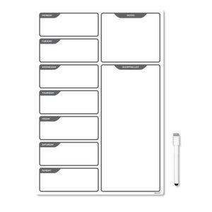 tableau magn tique pour frigo achat vente tableau magn tique pour frigo pas cher cdiscount. Black Bedroom Furniture Sets. Home Design Ideas