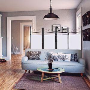 paravent interieur blanc achat vente paravent. Black Bedroom Furniture Sets. Home Design Ideas