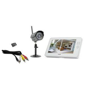 camera de surveillance sans fil exterieur avec ecran achat vente camera de surveillance sans. Black Bedroom Furniture Sets. Home Design Ideas