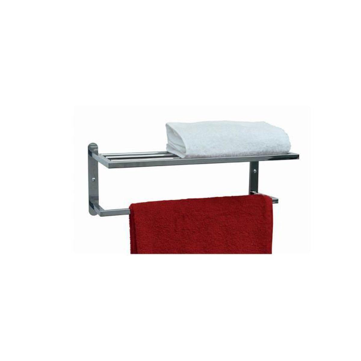 etag re murale porte serviettes tu argent achat. Black Bedroom Furniture Sets. Home Design Ideas