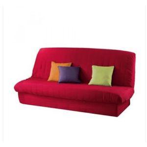housse de clic clac rouge matelass e top qualit achat vente housse de canape soldes. Black Bedroom Furniture Sets. Home Design Ideas