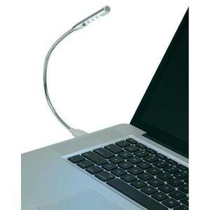 Lampe usb 4 led eclairage de bureau prix pas cher - Lampe bureau usb ...