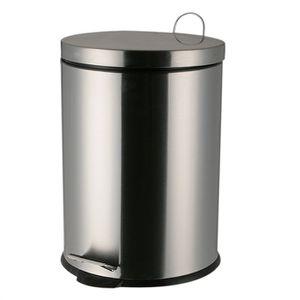 poubelles en inox achat vente poubelles en inox pas cher cdiscount. Black Bedroom Furniture Sets. Home Design Ideas