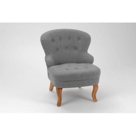 Fauteuil crapaud gris capitonn dona amadeus achat vente fauteuil gris - Fauteuil crapaud gris ...