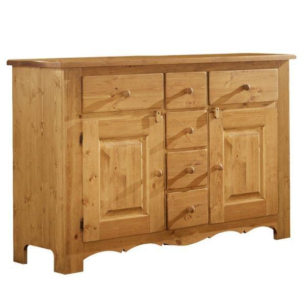 bahut bas casita achat vente buffet bahut bahut bas casita bois cdiscount. Black Bedroom Furniture Sets. Home Design Ideas