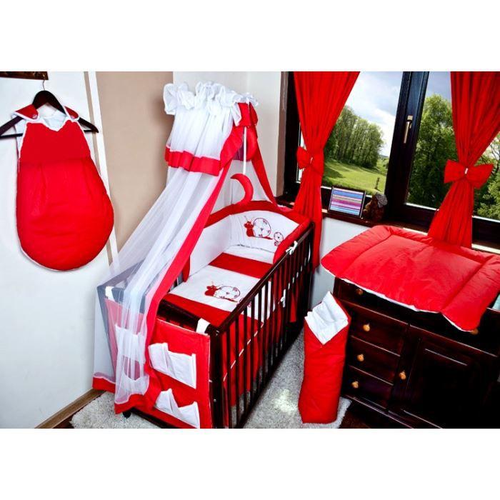 Stunning Tour De Lit Bebe Rouge Et Blanc Contemporary - House Design ...