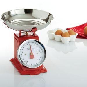 Balance de cuisine m canique rouge achat vente balance lectronique cdiscount for Cuisine rouge occasion