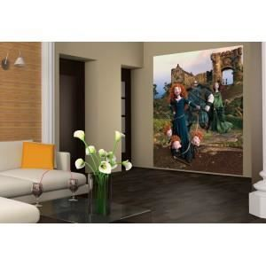fresque murale disney rebelle portrait de famille papier peint poster g ant achat vente. Black Bedroom Furniture Sets. Home Design Ideas
